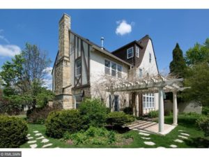 Old Tudor home for sale in Minneapolis