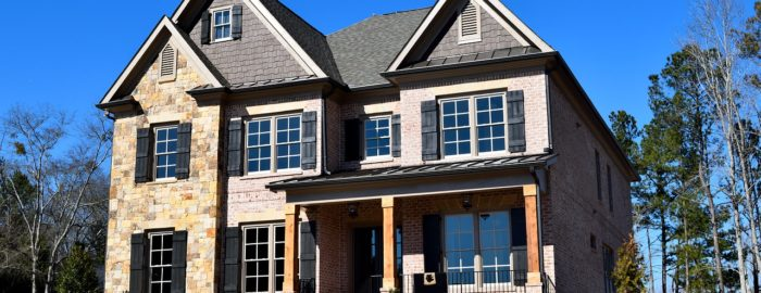 Large suburban home.