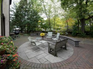 The patio of 4444 W Lake Harriet Parkway 1