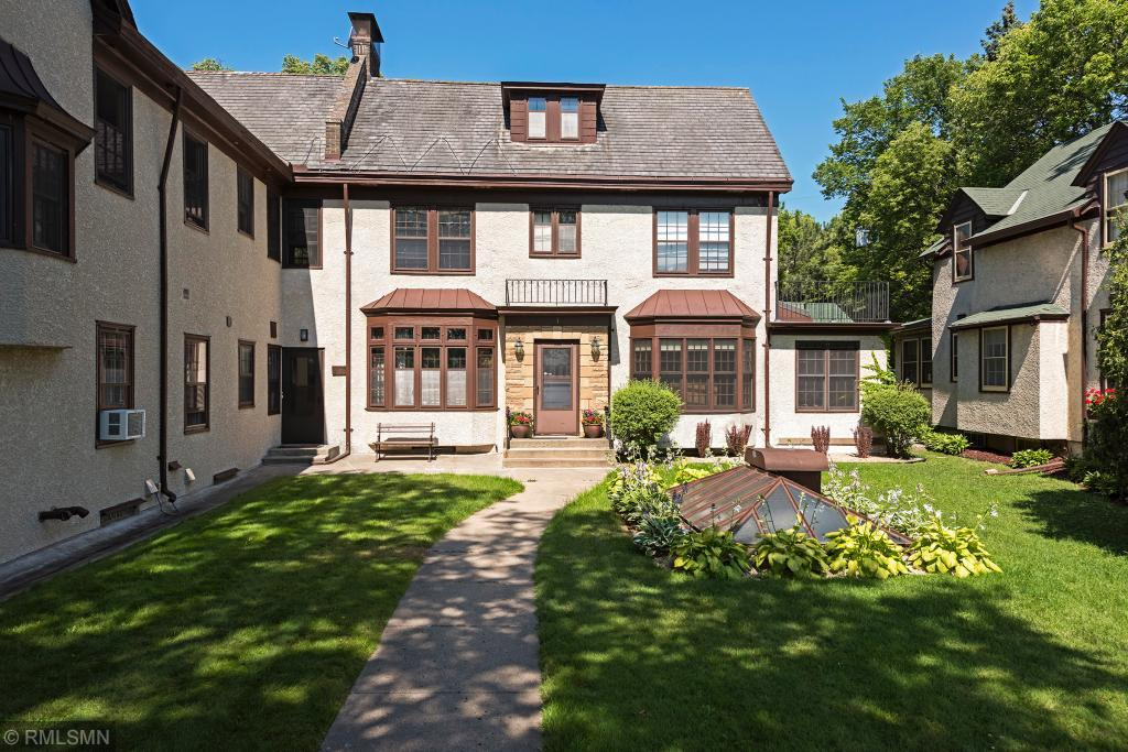 The exterior of 4444 W Lake Harriet Parkway 1